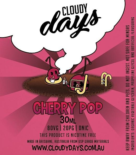 cloudy days cherry pop