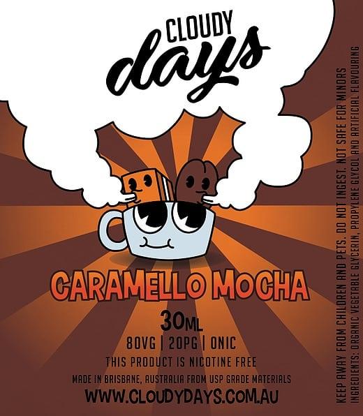 cloudy days caramello mocha