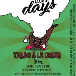 cloudy days tabac a la creme