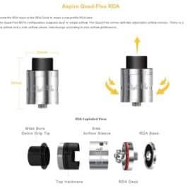 Aspire Quad Flex RDA