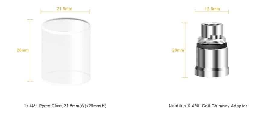 Aspire Nautilus Adapter Kit Australia