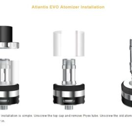 Aspire Atlantis Evo 2ml/4ml Tank