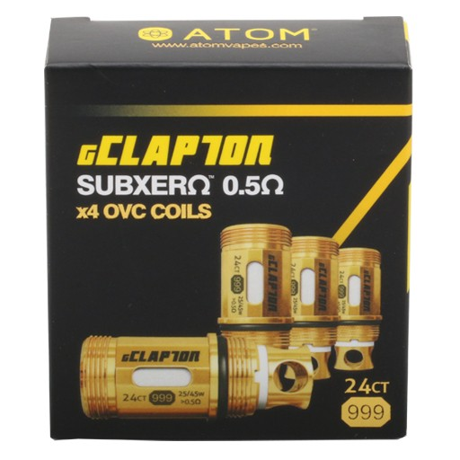 Atom Vapes GClapton 0.5 OVC Coils Australia