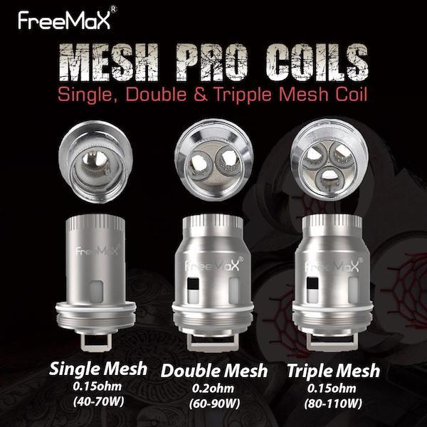 Freemax Mesh Pro Coils Australia