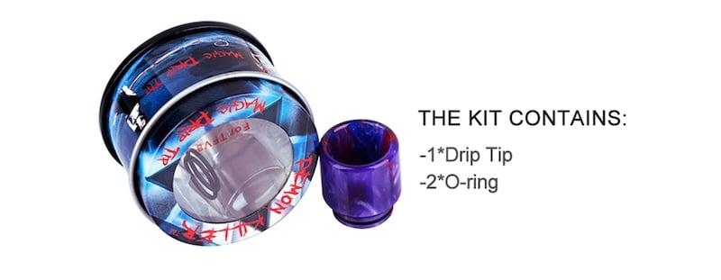 Demon Killer Resin Drip Tip TFV8 810 Australia