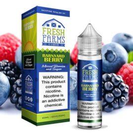 Fresh Farms E Liquid Banyard Berry Australia AVS