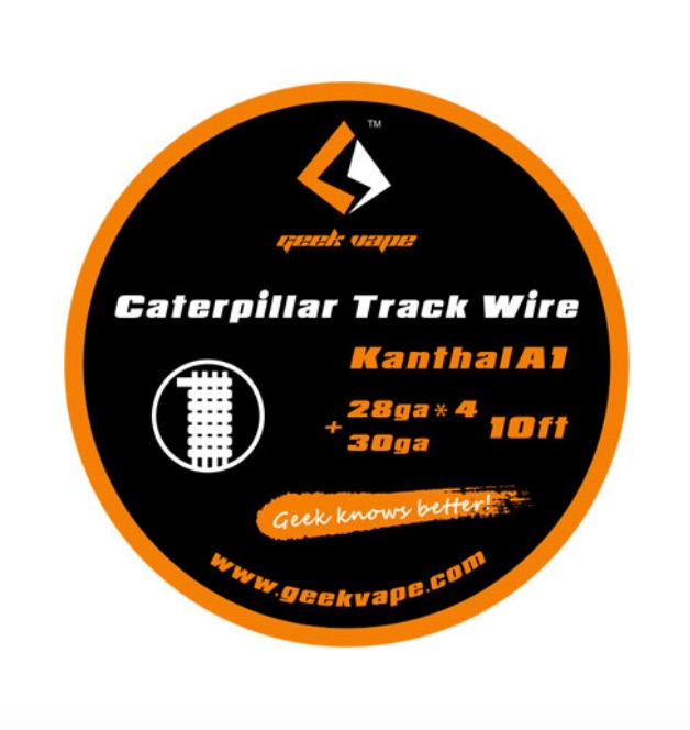 Geekvape Caterpillar Track Wire Kanthal A1 DIY Australia AVS