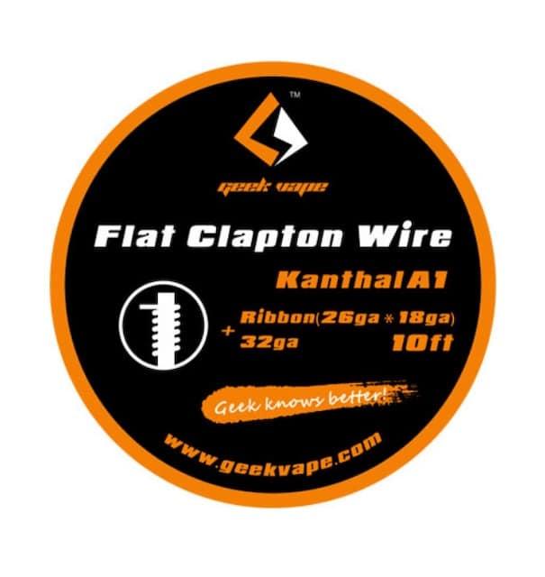 Geekvape Flat Clapton Kanthal A1 Wire DIY Australia AVS