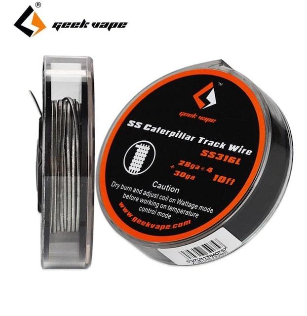 Geekvape SS Caterpillar Track Wire DIY Australia AVS