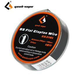 Geekvape SS Flat Clapton Wire DIY Australia AVS