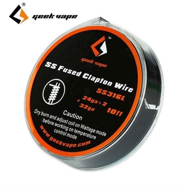 Geekvape SS Fused Clapton Wire DIY Australia AVS