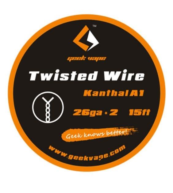 Geekvape Kanthal A1 DIY Twisted Wires 5M 26Ga x 2 Australia AVS