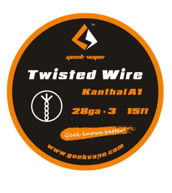 Geekvape Kanthal A1 DIY Twisted Wires 5M 28GA x 3 Australia AVS