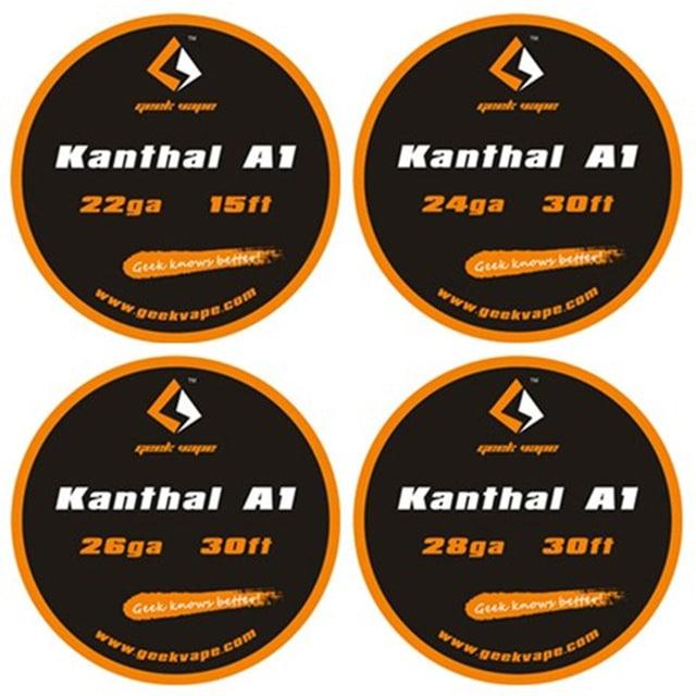 Geekvape Kanthal A1 Tape Wires DIY Australia AVS