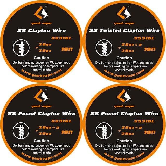 Geekvape SS Clapton DIY Wires Australia AVS