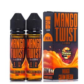 Mango Twist Mango Cream Dream Ejuice Australia AVS