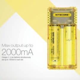 Nitecore Q2 Li-ion/IMR 2A Quick Charger Australia AVS