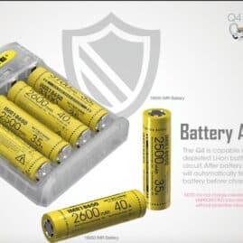 Nitecore Q4 4-Slot 2A Quick Battery Charger Australia AVS
