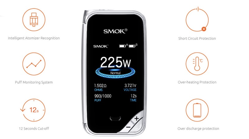 Smok X-Priv 225W Mod Australia AVS