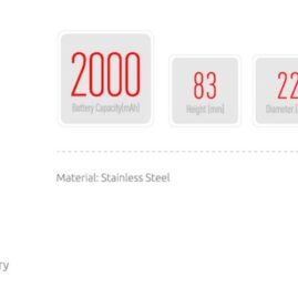 Smok V8 Baby Stick Kit 2000MAh W/Baby Tank Australia AVS