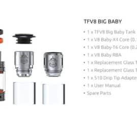 SMOK TFV8 Big Baby Tankk Australia AVS