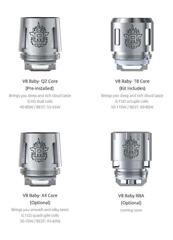 Smok Baby X Replacement Coils Australia AVS