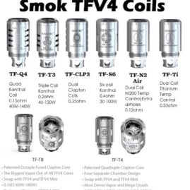 Smok TFV4 Replacement Coils Australia AVS