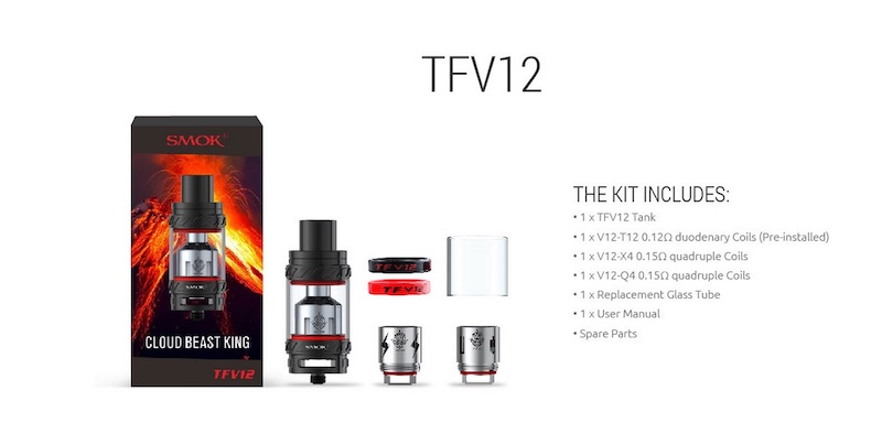 Smok TFV12 Cloud Beast King Tank Australia AVS