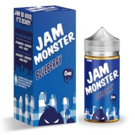 Jam Monster Blueberry Ejuice 100ml Australia AVS