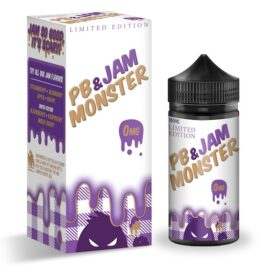Jam Monster Peanut Butter & Grape Ejuice 100ml Australia AVS