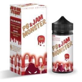 Jam Monster Peanut Butter & Strawberry Ejuice 100ml Australia AVS