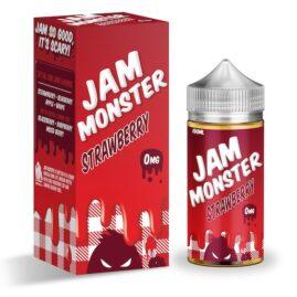 Jam Monster Strawberry Ejuice 100ml Australia AVS