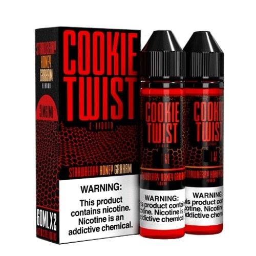 Twist Eliquid Cookie Strawberry Honey Graham Cookie Australia AVS