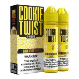 Twist Eliquid Cookie Banana Oatmeal Cookie Australia AVS