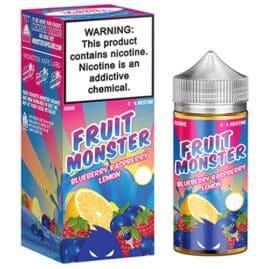 Jam Monster Fruit Monster 100ml Ejuice Blueberry Raspberry Lemon Australia AVS