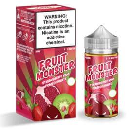 Jam Monster Fruit Monster 100ml Ejuice Strawberry Kiwi Pomegranate Australia AVS