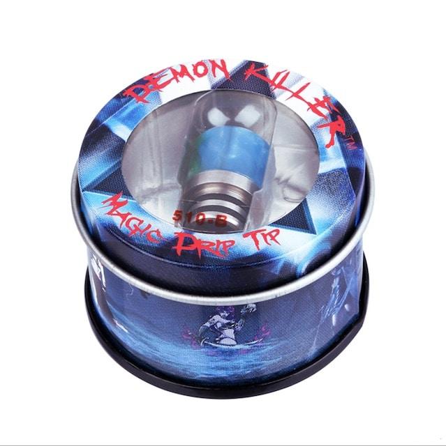 Demon Killer Resin/ Steel 510 Drip Tip Australia AVS