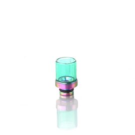 Glass and Stainless Steel 510 Drip tip Australia AVS Green