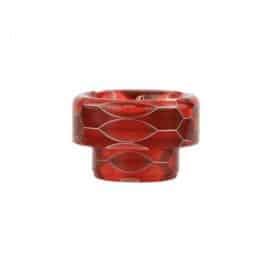 Blitz Snake Skin 810 Short Resin Drip Tip Red