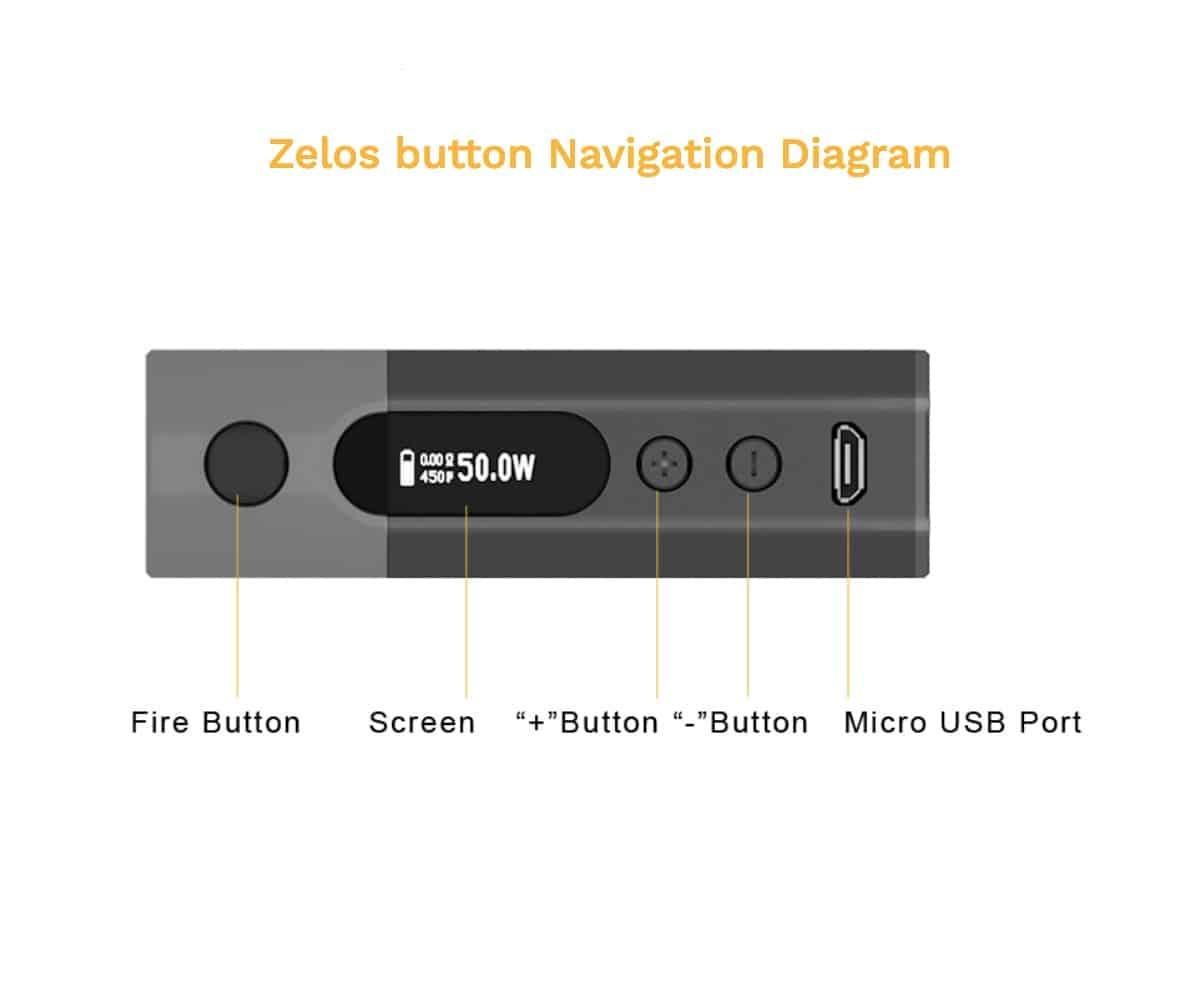 Aspire Zelos 2.0 Starter Kit with Nautilus Australia AVS