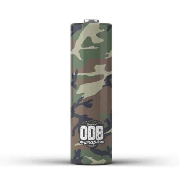 OBD 18650 Battery Wrap Sleeve Australia AVS Camo