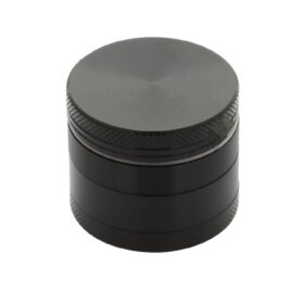 Black Aluminium Grinder 40mm - 4 pc. Australian AVS