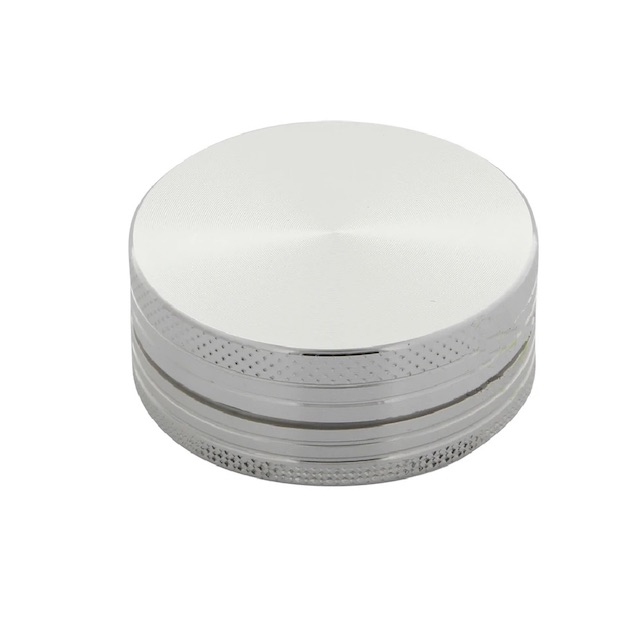Pocket Size Silver Aluminium Grinder 40mm - 2 pc. Australia AVS