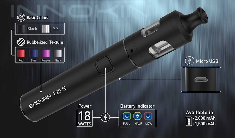 Innokin Endura T20S Pen Kit Australia AVS