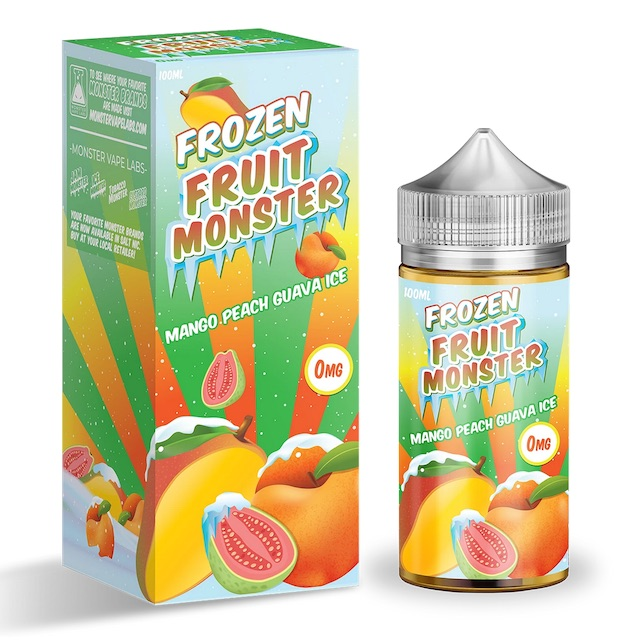 Jam Monster Mango Peach Guava ICE Australia 100ml