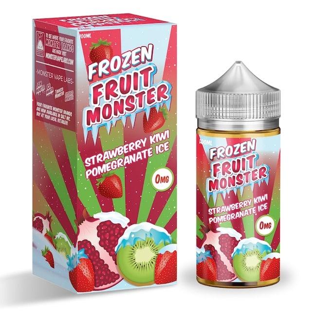 Jam Monster Strawberry Kiwi Pomegranate ICE Australia 100ml