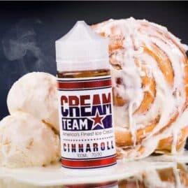 Cream Team ejuice Cinnaroll Australia