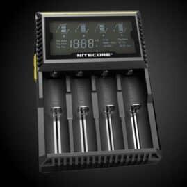 Nitecore D4 LCD Digital charger for NI-MH AA AAA 18650 Australia