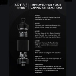 Innokin Ares 2 MTL RTA Australia