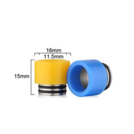 Delrin & Stainless Wide Bore 810 Drip Tip Australia
